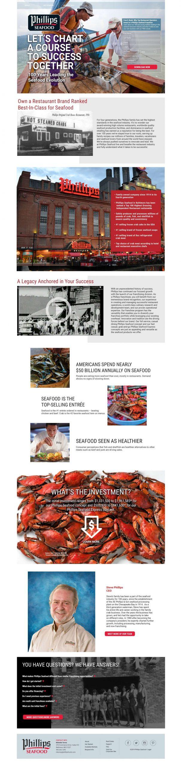 phillips seafood website